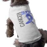 El cáncer chupa - al cáncer de estómago camisa de mascota