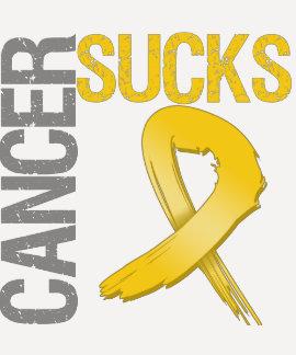 El cáncer chupa - al cáncer de la niñez camiseta