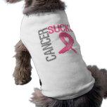 El cáncer chupa - al cáncer de pecho ropa macota