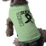 El cáncer chupa - al cáncer de piel prenda mascota