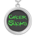 El cáncer chupa - al cáncer del riñón pendientes personalizados