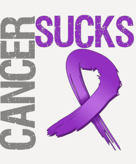 El cáncer chupa - al cáncer pancreático tshirt