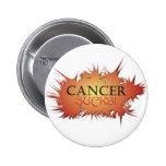 El cáncer chupa el botón pins