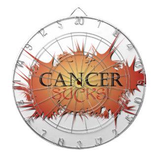 El cáncer chupa el tablero de dardo