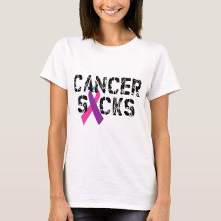 El cáncer chupa - la cinta del cáncer de tiroides playera