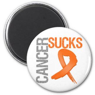 El cáncer chupa - leucemia imán para frigorífico