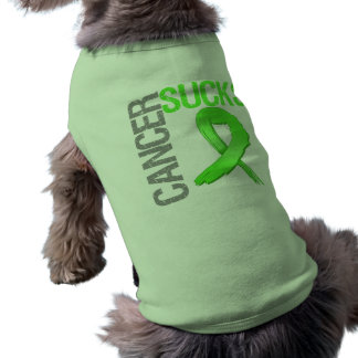 El cáncer chupa - linfoma Non-Hodgkin Playera Sin Mangas Para Perro