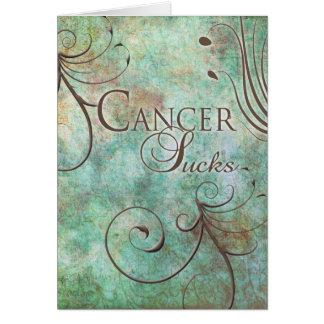 El cáncer chupa tarjetón