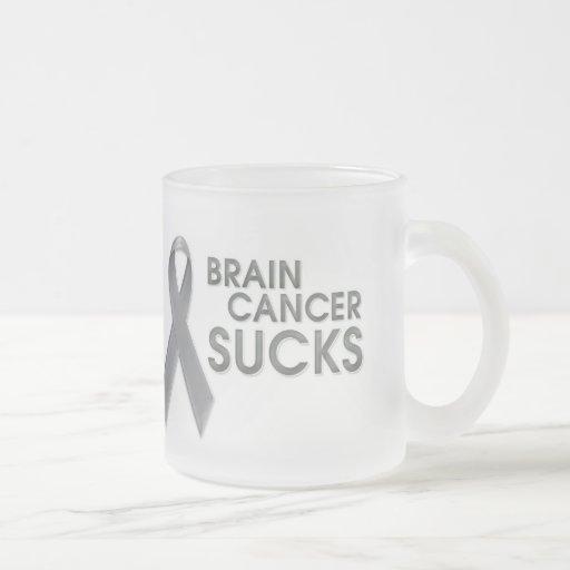 El cáncer de cerebro chupa la taza
