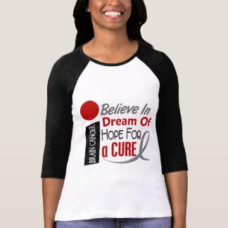 El cáncer de cerebro CREE ESPERANZA IDEAL Camiseta