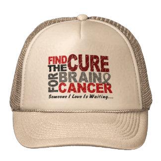 El cáncer de cerebro ENCUENTRA la CURACIÓN 1 Gorras
