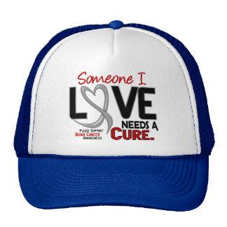 El cáncer de cerebro NECESITA una CURACIÓN 2 Gorro