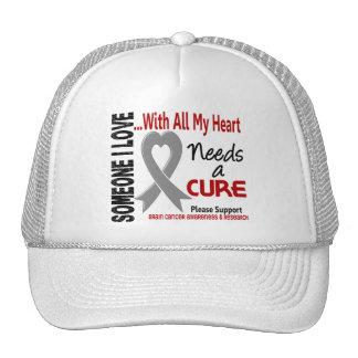El cáncer de cerebro necesita una curación 3 gorro de camionero