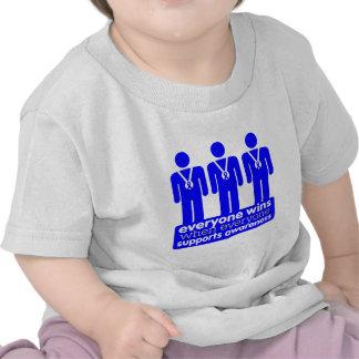El cáncer de colon cada uno gana con conciencia camiseta