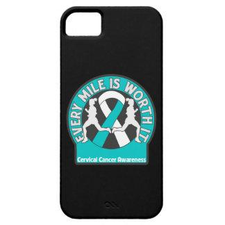 El cáncer de cuello del útero cada milla la vale iPhone 5 carcasa