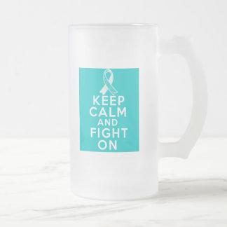 El cáncer de cuello del útero guarda calma y sigue taza
