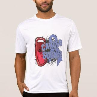 El cáncer de estómago chupa grito él camisetas