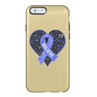 El cáncer de estómago cree el corazón de la cinta funda para iPhone 6 plus incipio feather shine
