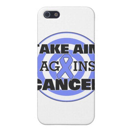 El cáncer de estómago toma objetivo contra cáncer iPhone 5 carcasas