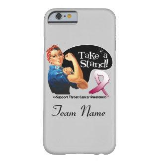 El cáncer de garganta toma un caso del iPhone 6 Funda De iPhone 6 Barely There