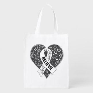 El cáncer de hueso cree el corazón de la cinta bolsa para la compra