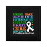 El cáncer de hueso cree la determinación de la fue caja de recuerdo