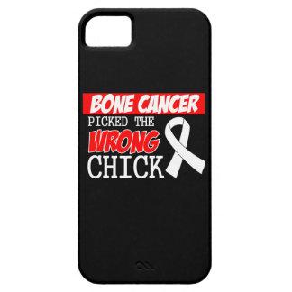 El cáncer de hueso escogió el polluelo incorrecto iPhone 5 Case-Mate protector