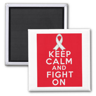 El cáncer de hueso guarda calma y sigue luchando imán cuadrado