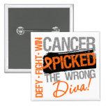 El cáncer de la leucemia escogió a la diva incorre pins