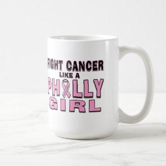El cáncer de la lucha tiene gusto de un chica de taza clásica