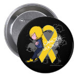 El cáncer de la niñez chupa (el muchacho) pins