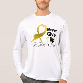 El cáncer de la niñez nunca da para arriba camisetas