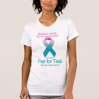 El cáncer de las mujeres. No es siempre rosado Remeras