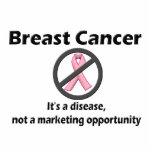 El cáncer de pecho es oportunidad de márketing de  esculturas fotográficas
