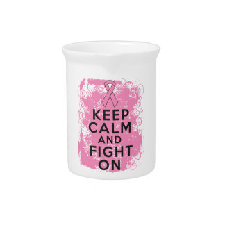 El cáncer de pecho guarda calma y lucha On.png Jarras