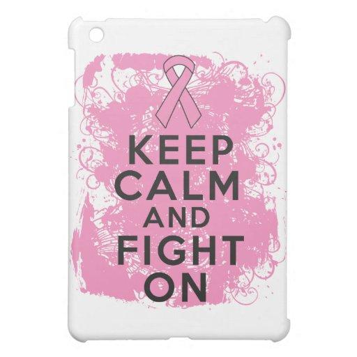 El cáncer de pecho guarda calma y sigue luchando