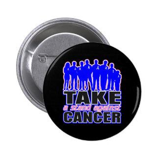 El cáncer de pecho masculino - tome un soporte con pins