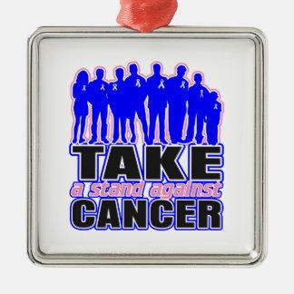 El cáncer de pecho masculino - tome un soporte adorno