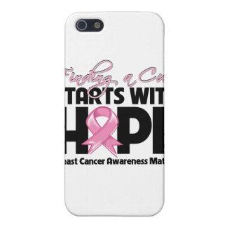 El cáncer de pecho que encuentra una curación comi iPhone 5 fundas