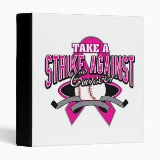 """El cáncer de pecho toma una huelga contra cáncer carpeta 1"""""""