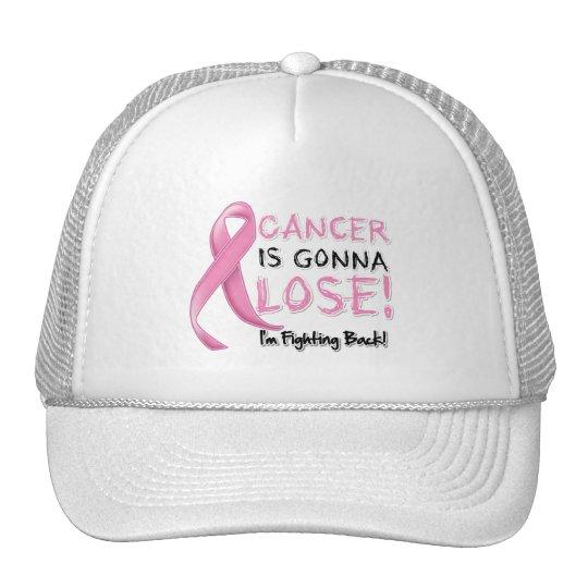 El cáncer de pecho va a perder gorro de camionero