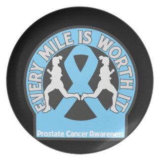El cáncer de próstata cada milla la vale plato de cena