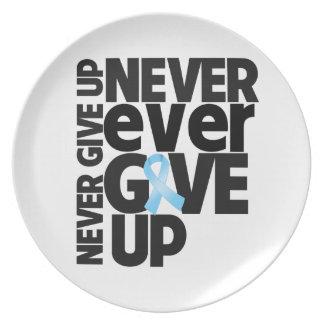 El cáncer de próstata da nunca nunca para arriba platos