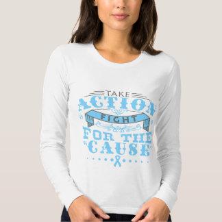 El cáncer de próstata toma la lucha de la acción camisas