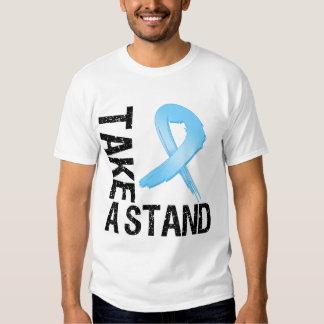 El cáncer de próstata toma un soporte camisas