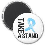 El cáncer de próstata toma un soporte imán de frigorífico