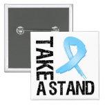El cáncer de próstata toma un soporte pin