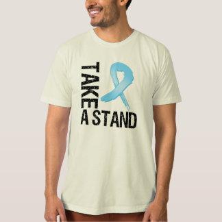 El cáncer de próstata toma un soporte playera