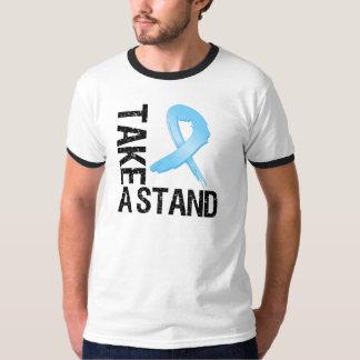 El cáncer de próstata toma un soporte playeras