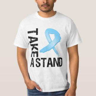 El cáncer de próstata toma un soporte polera